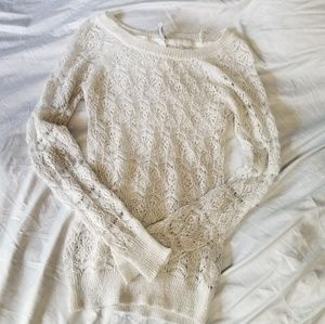 Aeropostale Long Sleeve Lace top
